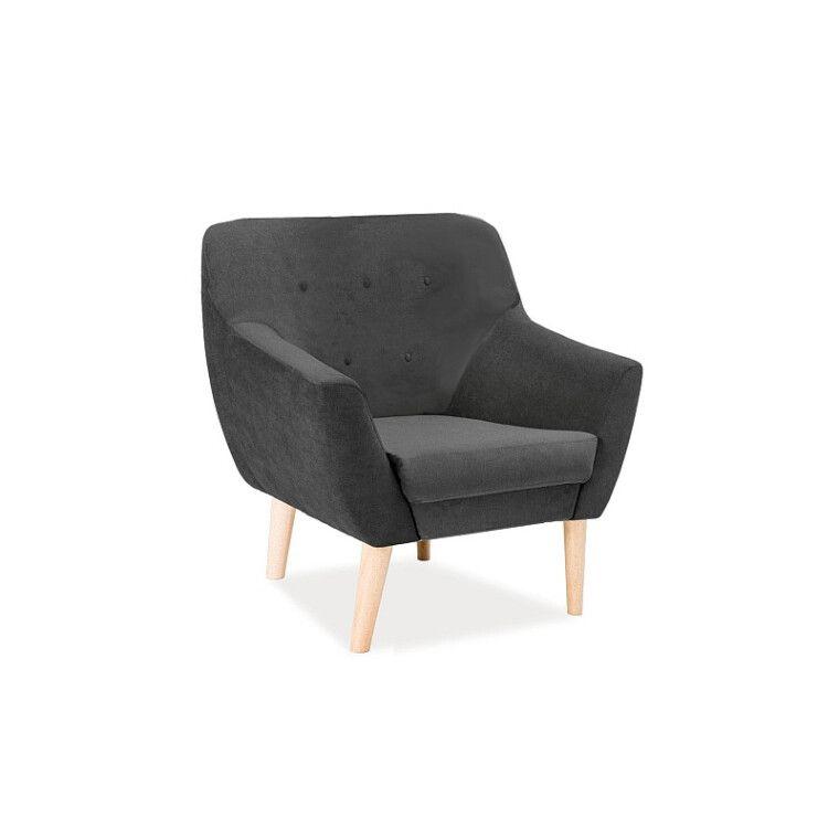 Кресло Pooffe Soul 1 | Темно-серый