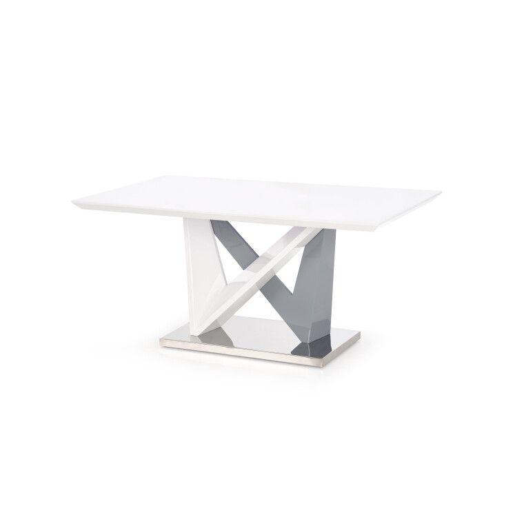 Стол обеденный Halmar Cortez | Белый / серый - 10