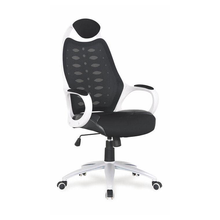 Кресло поворотное Halmar Striker 2 | Черный / белый