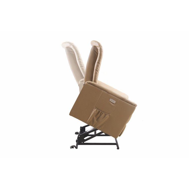 Кресло с подогревом и массажем Halmar Senator | Бежевый - 3