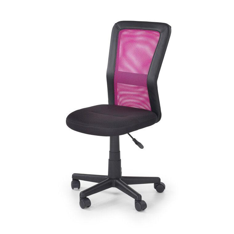 Кресло поворотное Halmar Cosmo   Черный / розовый фото