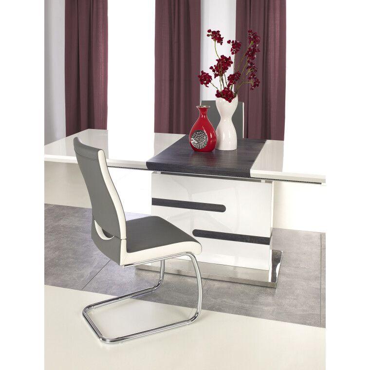 Стол раскладной Halmar Monaco | Белый / Серый - 5