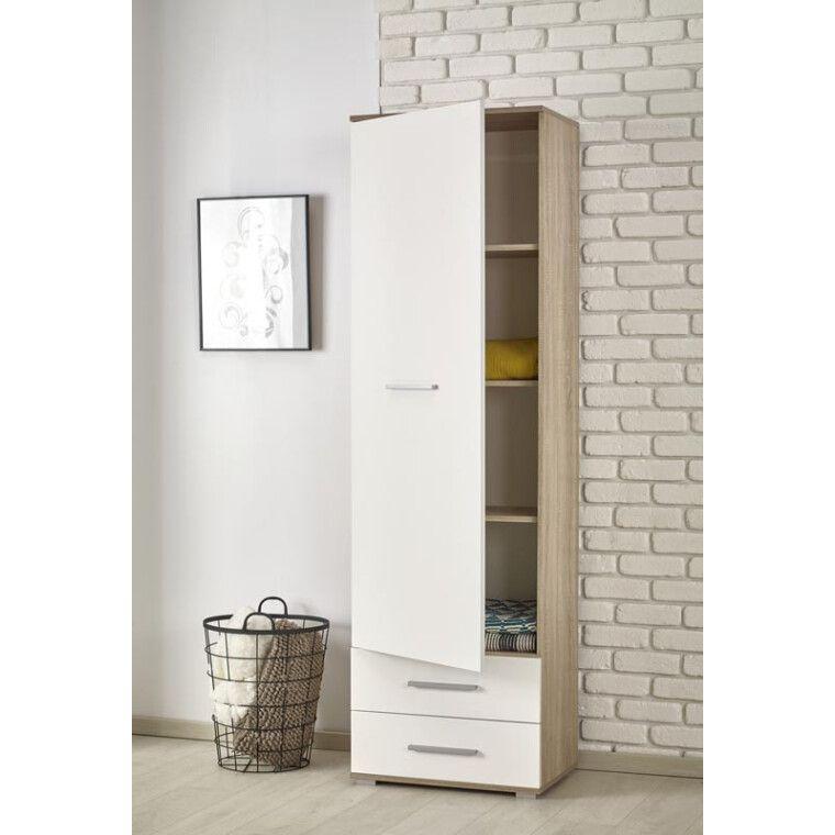 Шкаф Halmar Lima Reg-1 | Дуб сонома / Белый - 2
