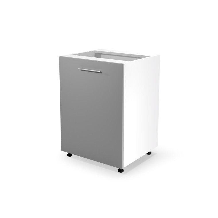Шкаф под мойку Halmar Vento DK-60/82 | Светло-серый фото