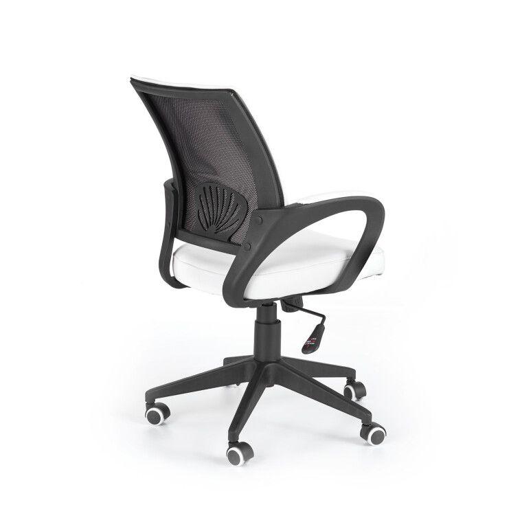 Кресло поворотное Halmar Lucas   Белый - 4