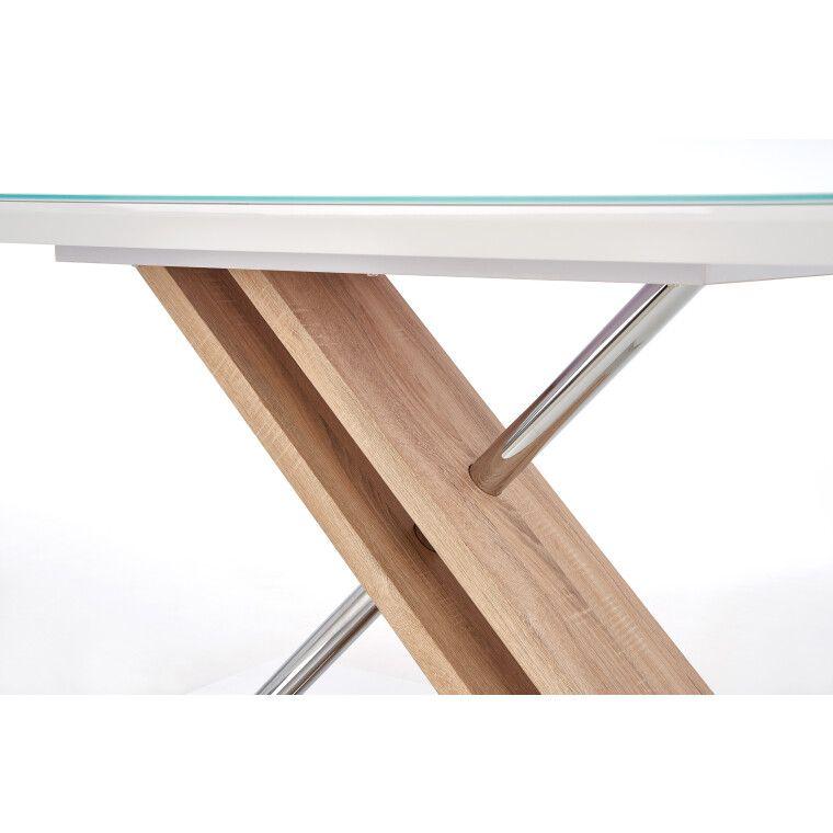 Стол обеденный Halmar Nexus | Дуб Сонома / Белый - 4