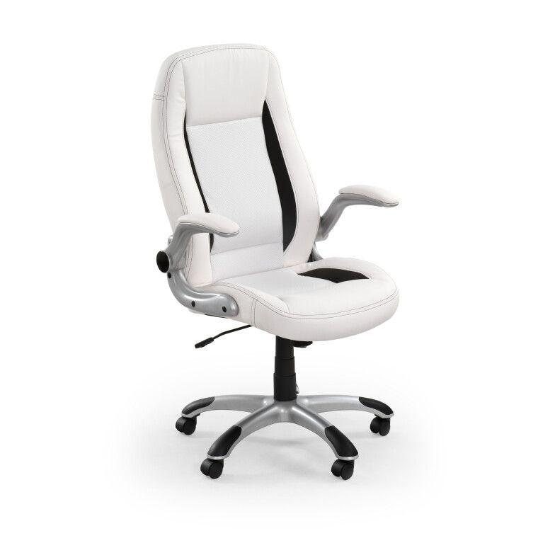 Кресло поворотное Halmar Saturn   Белый