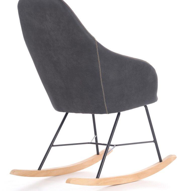 Кресло-качалка Halmar Lagos | Серый - 3