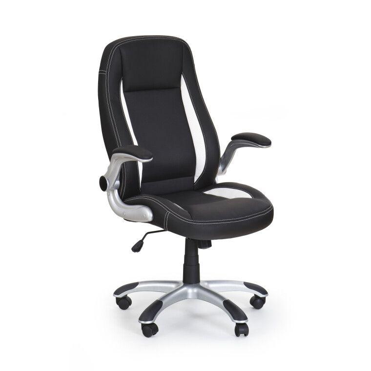 Кресло поворотное Halmar Saturn   Черный