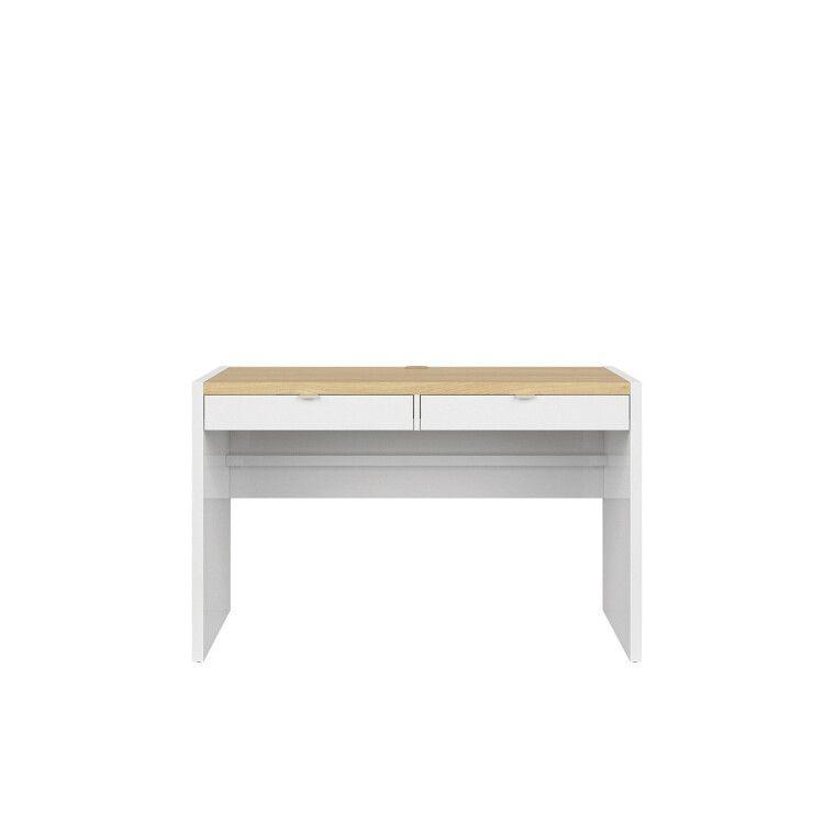 Ящик для стола BRW Princeton   Белый / Дуб польский / Серый - 4
