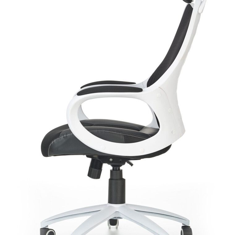 Кресло поворотное Halmar Striker 2 | Черный / белый - 3