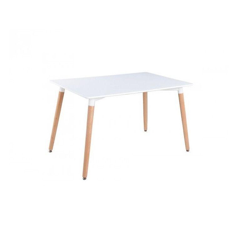 Стол обеденный Signal Nolan | Белый / бук