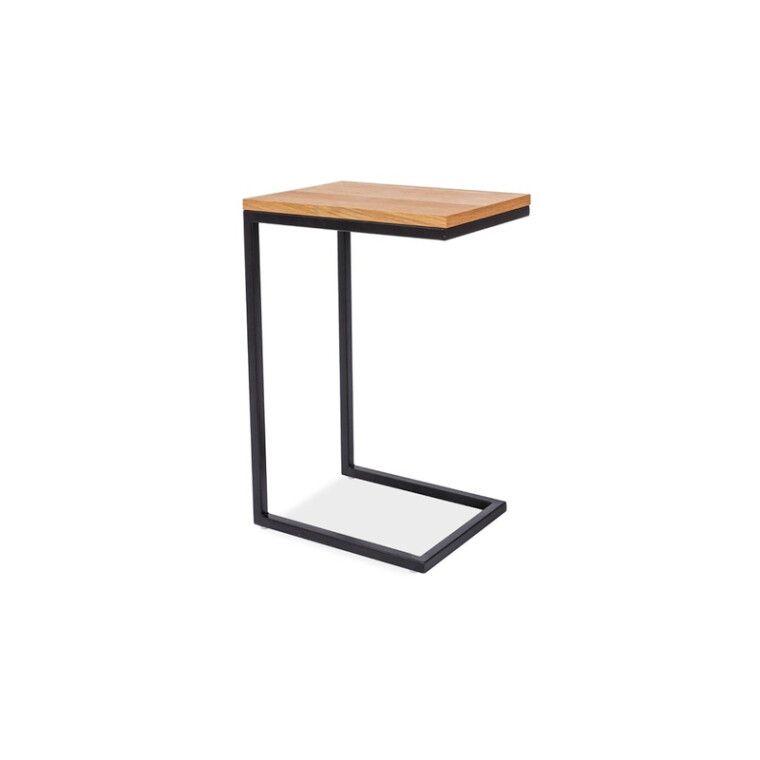 Столик журнальный Signal Largo C | Дуб / черный