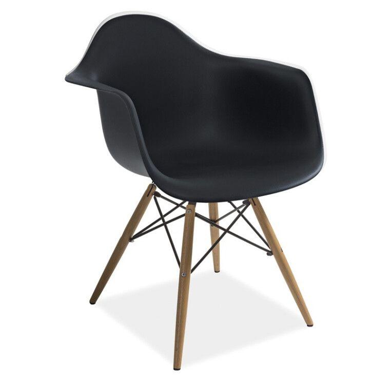 Кресло Signal Mondi | Черный / Бук