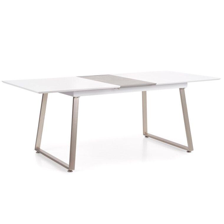 Стол раскладной Halmar Thomas | Белый / Бетон - 7