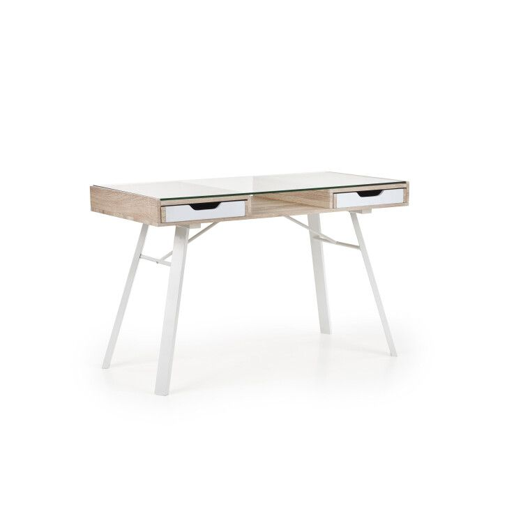 Стол письменный Halmar B-33 | Дуб Сонома / Белый - 5