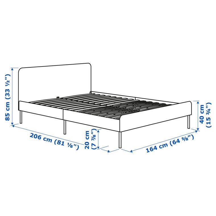 Кровать SLATTUM - 2