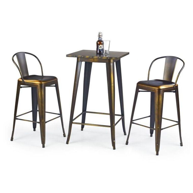 Стол барный Halmar SB-8 | Медный