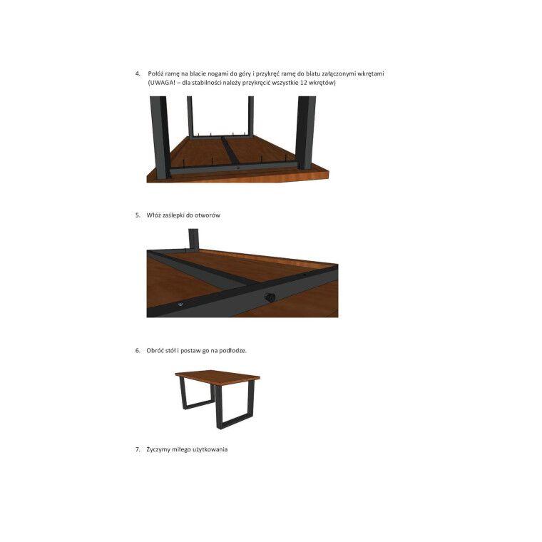 Стол обеденный Signal Umberto | 80х120  / шпон - 3