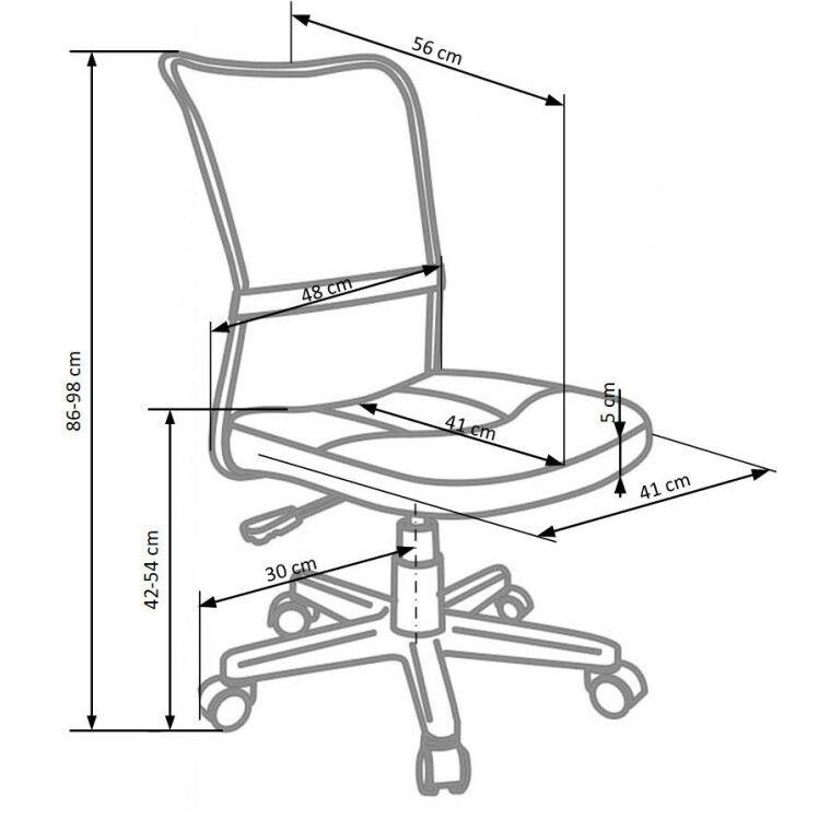 Кресло поворотное Halmar Dingo | Серый - 4