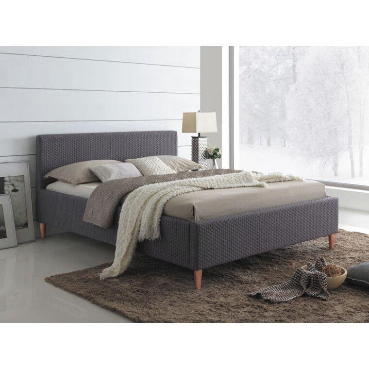 Кровать Signal Seul | 160х200 / Серый / Дуб