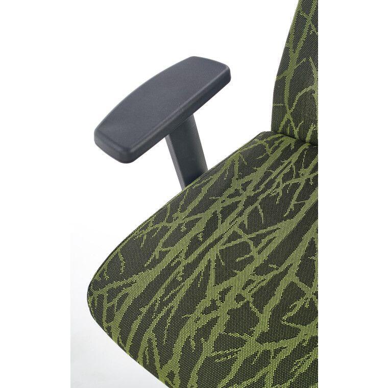 Кресло поворотное Halmar Tropic   Зеленый / Черный фото - 8