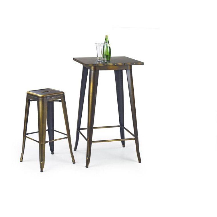 Стол барный Halmar SB-8 | Медный - 3