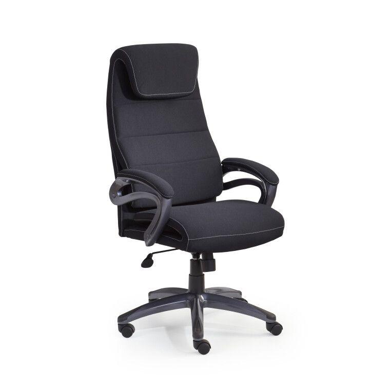 Кресло поворотное Halmar Sidney | Черный