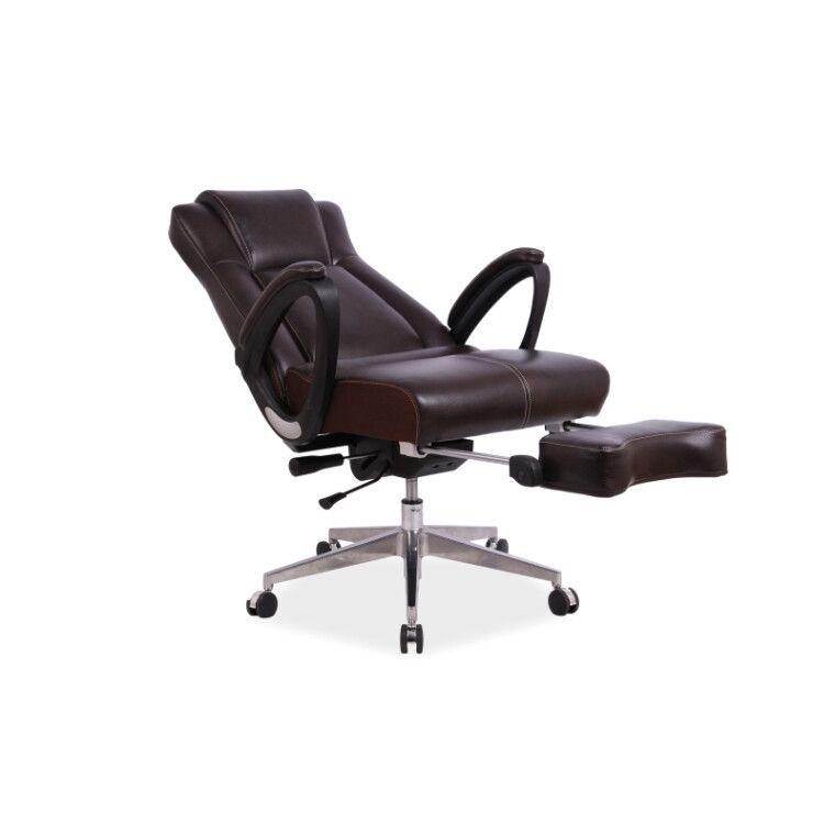 Кресло поворотное Signal President | Коричневый - 3