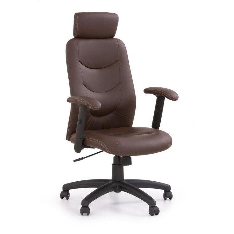 Кресло поворотное Halmar Stilo | Коричневый
