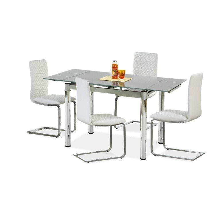 Стол раскладной Halmar Logan 2 | Серый
