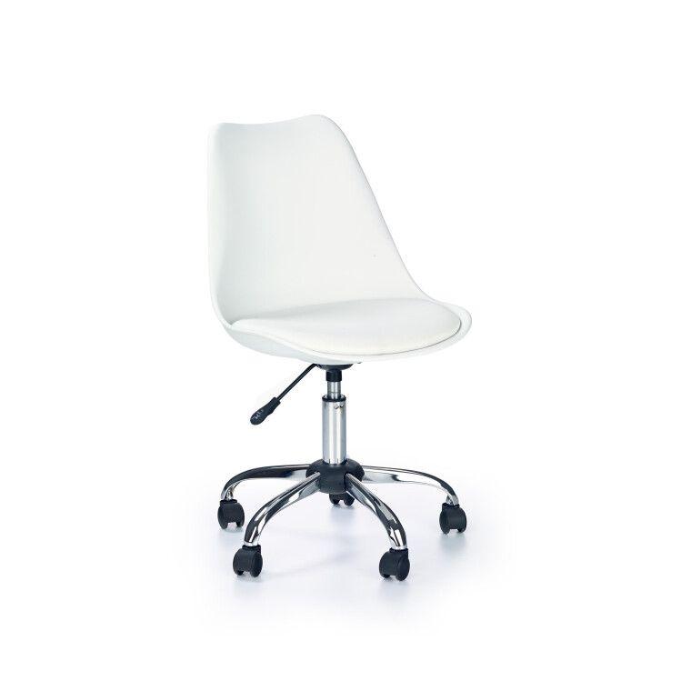 Кресло поворотное Halmar Coco   Белый