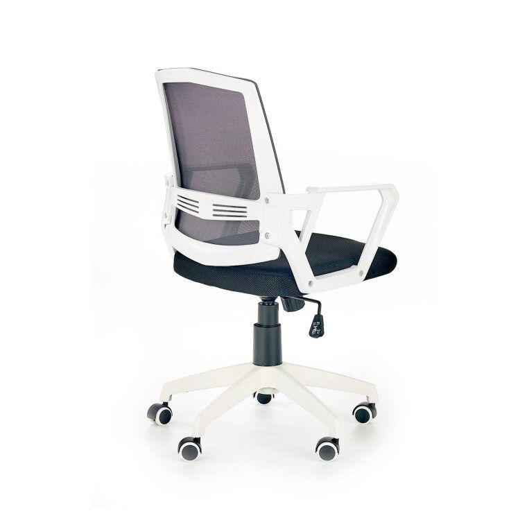 Кресло поворотное Halmar Ascot | Черный / Серый / Белый - 2