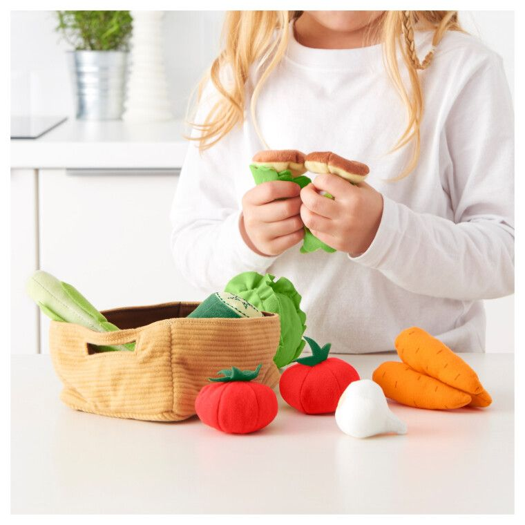 Корзина с овощами DUKTIG - 2