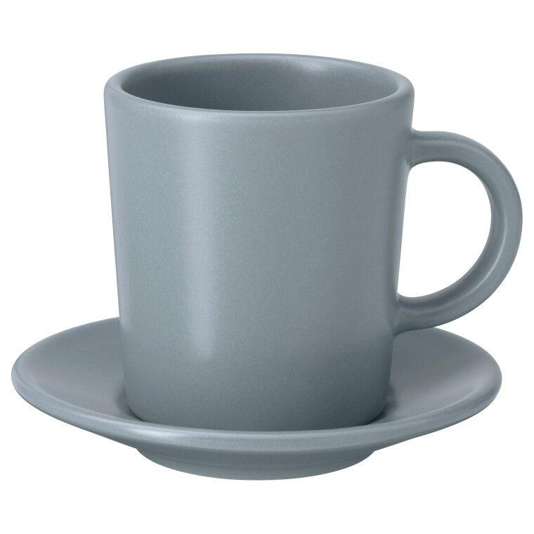 Чашка для кофе эспрессо с блюдцем DINERA