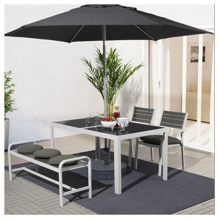 Комплект мебели садовой SJÄLLAND - 8