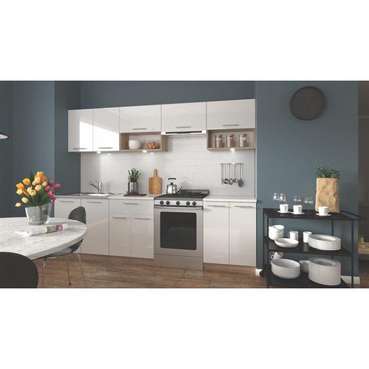 Кухонный гарнитур Halmar Viola 260 | Дуб Сонома / белый