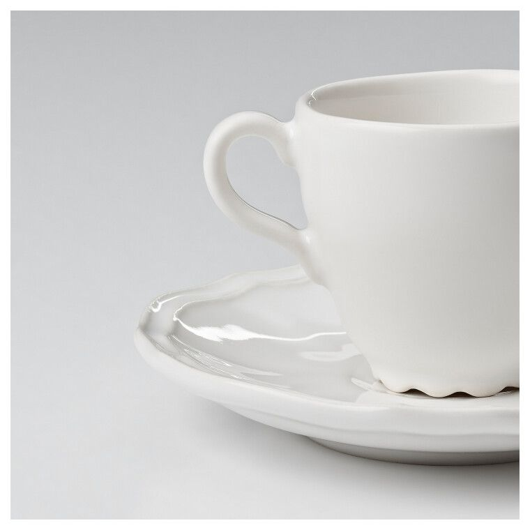 Чашка для кофе эспрессо с блюдцем ARV - 3