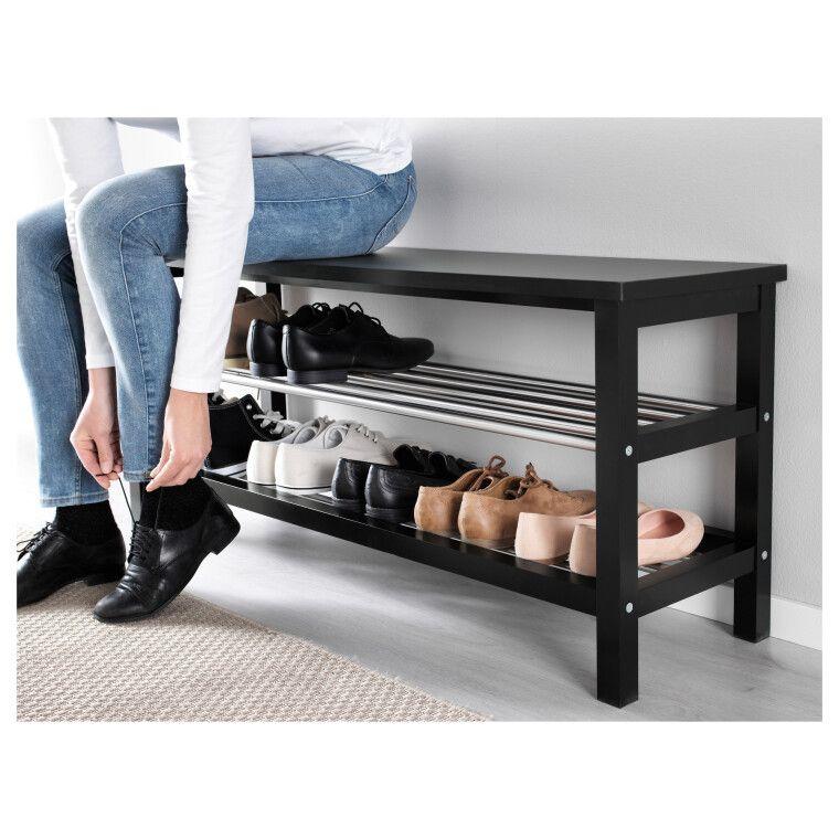 Скамья с полками для обуви TJUSIG - 2