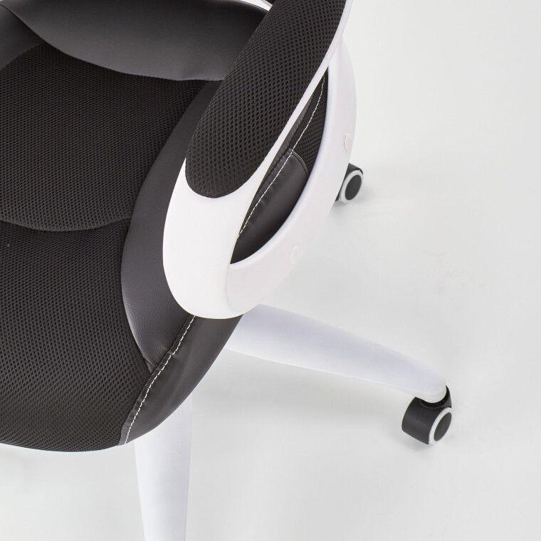 Кресло поворотное Halmar Striker 2 | Черный / белый - 8