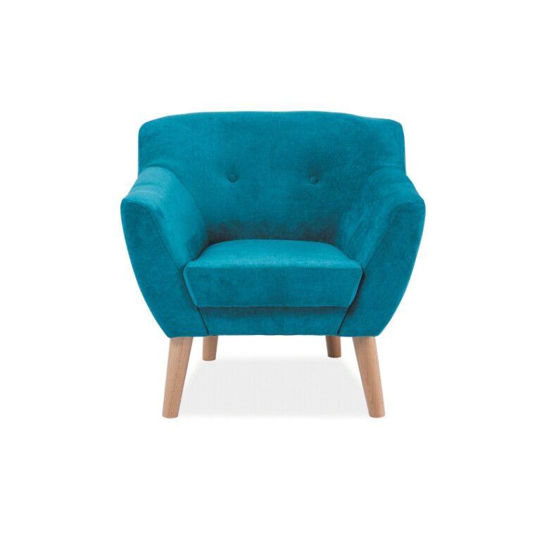 Мягкое кресло Signal Bergen 1 | Бирюзовый (Tap. 1612) - 2
