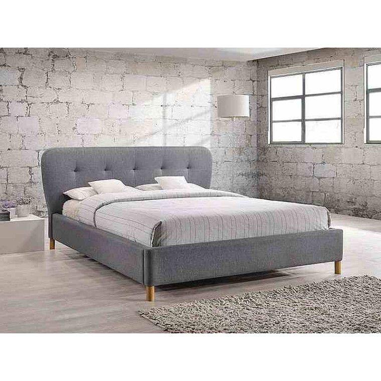 Кровать Signal Bella | 160х200 / Серый / Дуб