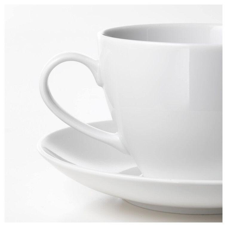 Чашка чайная с блюдцем VÄRDERA - 9