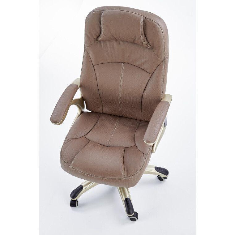 Кресло поворотное Halmar Carlos | Бежевый