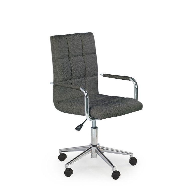 Кресло поворотное Halmar Gonzo 3   Серый
