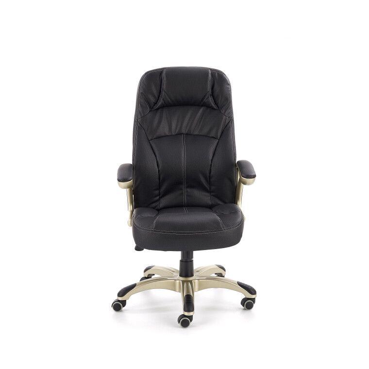 Кресло поворотное Halmar Carlos   Черный - 6
