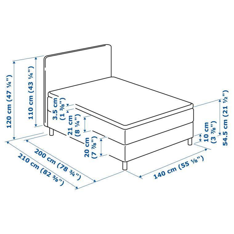 Кровать LAUVIK - 3