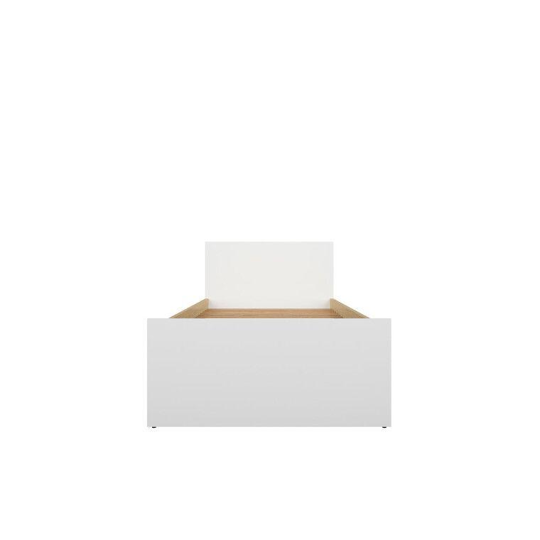 Кровать BRW Princeton | Белый / Дуб польский - 4