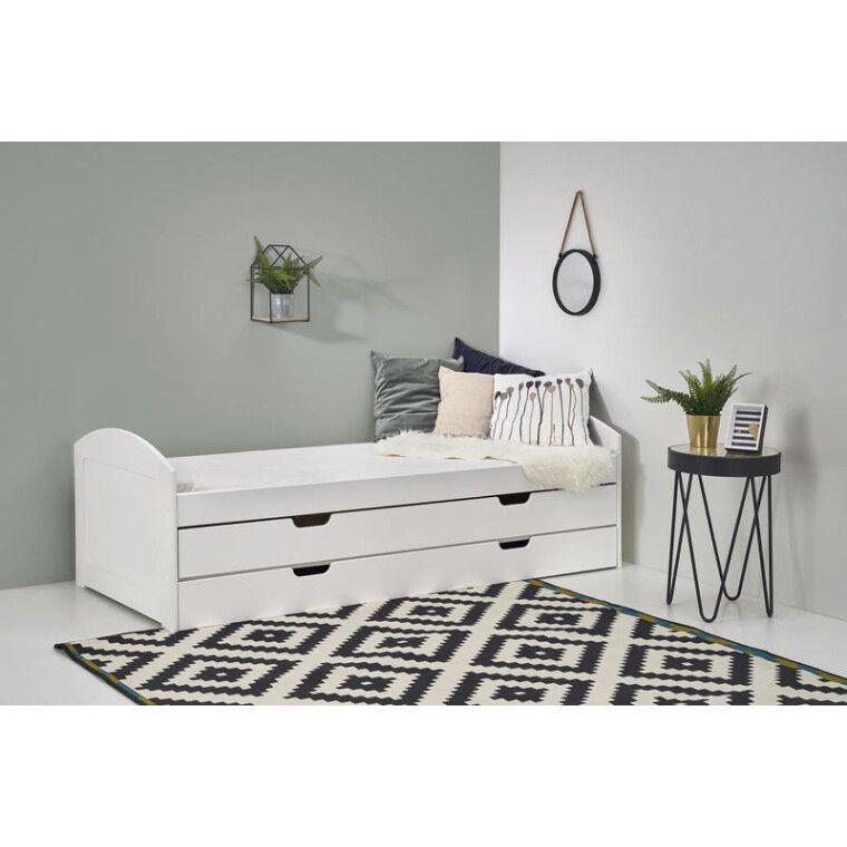 Кровать детская Halmar Laguna 2 | Белый - 3