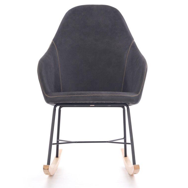 Кресло-качалка Halmar Lagos   Серый - 5